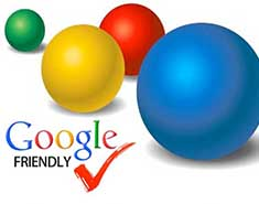 All of our websites have google friendly technology.
